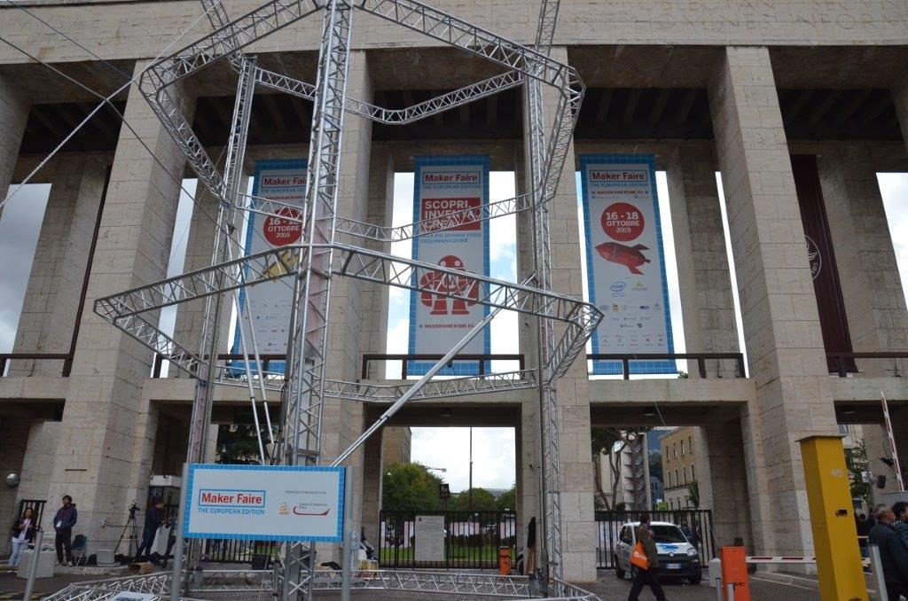 Maker Faire Rome 2015 entrance